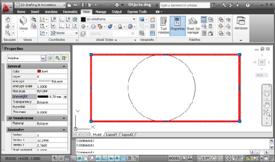 Tutorial 5: Modify Object Properties and Layers in AutoCAD
