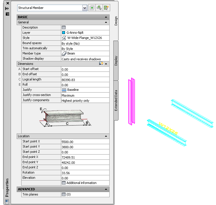 User's Guide: Exporting Structural Members